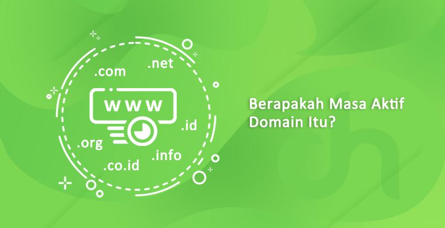 berapakah masa aktif domain